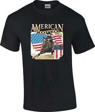 American Rodeo Barrel Racing Cowgirl T-Shirt