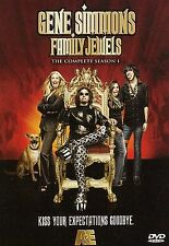 KISS Gene Simmons: Family Jewels - The Complete Season 1 (DVD, 2009, 2-Disc Set)