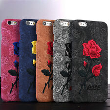 Luxury Rose Pattern Thin Hard Back Case Cover Skin for Apple iPhone6 6s 4.7/Plus