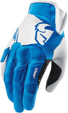 NEW THOR MX ATV RIDING RACING FLOW BLUE MENS ADULT GLOVES GLOVE BMX SX MOTOCROSS