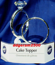 Wilton Wedding Cake Topper ~ Two Wedding Rings NIB