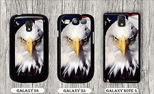 BALD EAGLE HEAD AMERICAN FLAG #2 CASE FOR SAMSUNG GALAXY S3 S4 NOTE 3 -tdf5Z