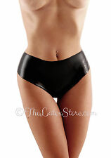 Latex Rubber HIGH-CUT Panties / BLACK / 182