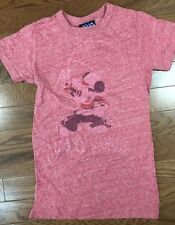 T-Shirts Sizes S-M-L Junk Food Mickey Mouse Rodeo Tri Blend Juniors Tee Shirt