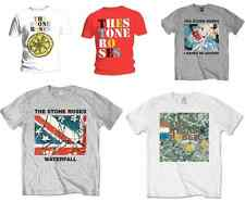 Stone Roses T Shirt Adored Waterfall Lemon Red Logo Album Ian Brown Official NEW