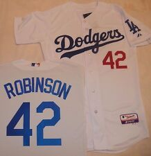 LOS ANGELES DODGERS JACKIE ROBINSON AUTHENTIC JERSEY MAJESTIC COOL BASE PICK SZ