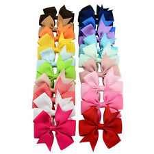 Kids Children Baby Girls New Toddler Flowers Hair Clip Bow Accessories Hairpin