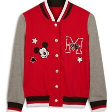 Ladies DISNEY MICKEY MOUSE Varisty Bomber Jacket