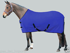 GEE TAC NEW  FLEECE HORSE RUG BLUE IN COLOUR ALL Sizes! cooler stable travel