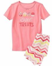 NWT Gymboree Girls Sweet Treats Shortie Gymmies Pajamas PJ's Size 18-24 M 2T & 3