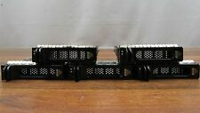 "Lot of 5 Genuine Dell WJ038 3.5"" SCSI Hot Swappable Hard Drive Tray Caddies"
