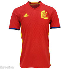 BNWT Adidas 2016 SPAIN ESPANA Home Soccer Jersey Football Shirt Trikot AI4411