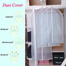Cloth Hanging Garment Suit Coat Dust Cover Protector Wardrobe Storage Bag Durlbe