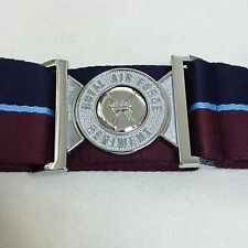 RAF Regiment Stable Belt, Metal Locket, Army, Military, All Sizes, Air Force