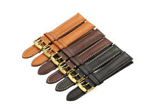 18-22mm Quick Release Genuine Leather Watch Band Pre-v Buckle Strap For Tissot