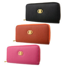 Women Clutch Zipper Leather Long Handbag Lady Wallet Coin Purse Card Holder Hot
