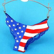 Sexy Lady Women Lace Panties Low Waist Cotton Briefs Underwear G-Strings Thongs