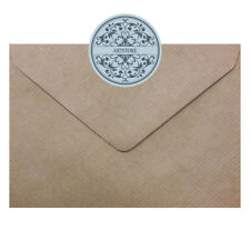 C6  Brown Kraft Ribbed Envelopes 100gsm  -  114 x 162mm To Fit A6 Cards