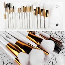 Pro 15pcs Makeup Brushes Set Powder Foundation Eyeshadow Eyeliner Lip Brush Tool