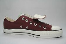 Converse Chuck Taylor All Star Maroon Brown Gray Double Tongue Ox 112421F