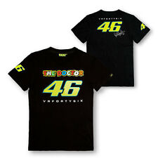 VALENTINO ROSSI VR.46 MENS THE DOCTOR T-SHIRT TEE BLACK S & L