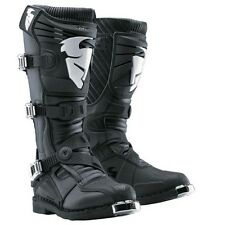 NEW THOR MX MENS MOTOCROSS ATV RIDING RACING RATCHET BLACK BOOTS