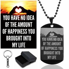 PERSONALIZED CUSTOM PHOTO DOG TAG - ENGRAVED JEWELRY NECKLACE PENDANT W/CHAIN