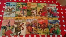 Set of 10 Famous Five - Secret seven Enid Blyton Books Vintage Collection