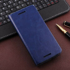 New Luxury Leather Flip Card Slot Wallet Stand Case Cover Pouch For HTC ONE M8