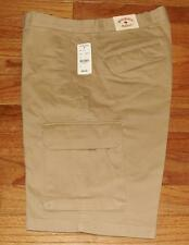 NEW NWT Mens Brooks Brothers Cargos Cargo Shorts Red Fleece 7-Pocket $89 *3M