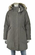 Women's North Face Graphite Grey Heather Arctic 550 Down Parka Jacket New $299