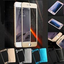 Full Cover Titanium Alloy Tempered Glass Screen Protector for iPhone 6 6s Plus