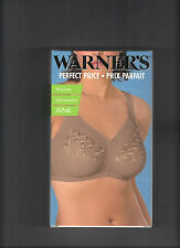WARNERS 74748 FULL COVERAGE WIRE FREE BRA IN WARM TAUPE