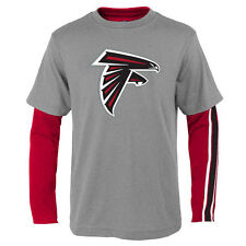 Atlanta Falcons Youth Fan Gear Squad T-Shirt Combo Pack - Red/Gray - NFL