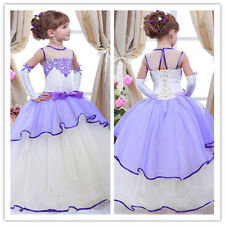 Flower Girl Dresses for Birthday Wedding Pageant Party Bridesmaid Prom BallGown