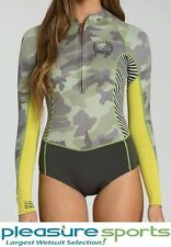 Billabong SALTY DAZE Women's Springsuit 2mm Long Sleeve - Camo