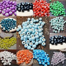 Wholesale! 50pcs 8/10/12mm Ceramic Multicolo Round Beads For DIY/Hand-woven