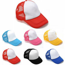 Baseball Blank Plain Snapback Hats Unisex Men's Hip-Hop adjustable bboy Cap
