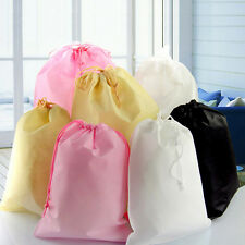 Portable Shoes Bag Travel Storage Pouch Drawstring Dust Bag Non-woven Party TOCA