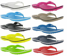 New Genuine Crocs Unisex Crocband Flip Flops Lightweight Comfort Sandals 3-12 UK