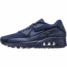 Nike Air Max 90 Ultra Moire Mens 819477-400 Midnight Navy Running Shoes Size 10