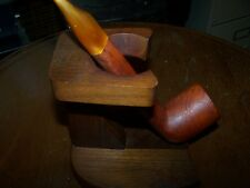 Vintage Estate Pipe Lorenzo Italy Grand Canadian 300 8694 Very nice!