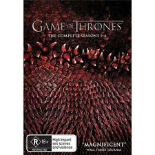 GAME OF THRONES Seasons 1 - 4 : NEW DVD