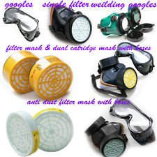 Dust Filter/ Catridge/Face Mask /Fiter or carbon boxes /Single / welding Goggles