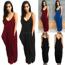 Sexy Women Summer Beach Bandage Long Maxi Dress Evening Party Cocktail Dress