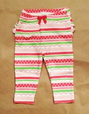 NWT Gymboree Girls All Ruffled Up  Spring Striped Leggings Size 3-6 M