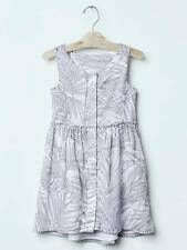NWT GapKids Gap Palm Leaf Fit Lavender Dress Size XS (4-5) M (8) L (10) XL (12)