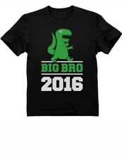 T-Rex Boy Best Gift for Big Brother 2016 Kids T-Shirt Big Bro