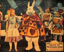 ALICE IN WONDERLAND MOVIE POSTER Gary Cooper 3 Sizes