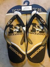 Adult Men's Flip Flops - Mizzou - Many Sizes - New w/ Tags MSRP $20